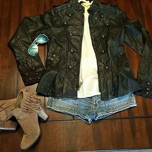 Steve Madden faux leather jacket